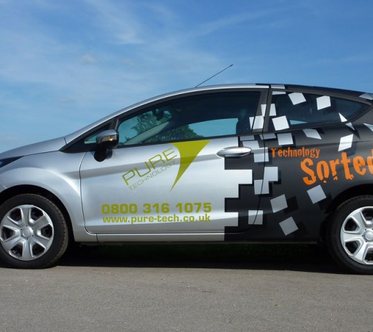 Vehicle graphics for cars vans and lorries