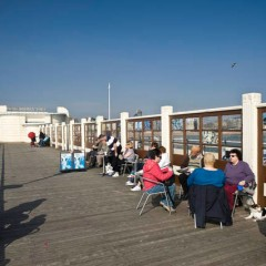 Worthing Pier - All year Art Exhibition