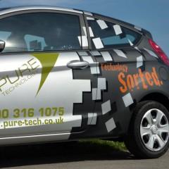 Vehicle Graphics, Half Wrap. Leatherhead, Surrey