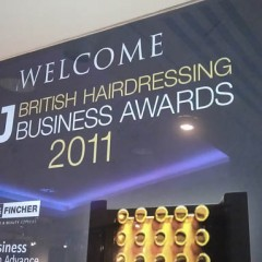 Acrylic Award Signage. Digital print to the rear of 10mm thick clear acrylic.