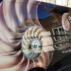 Vehicle Van Graphics, Digital Print and cut with vinyl lettering. Overbury, Bracknell.