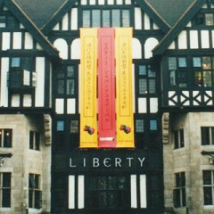 PVC Banner for Department Store, Liberty London