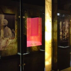 Display Cabinets. Digital Print to glass cabinets within Harrods London. Internal Cabinets built and installed.