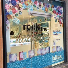 print and cut double sided window graphics. London