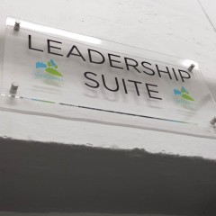 Internal Acrylic Directional Signage