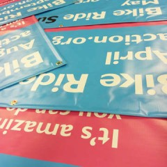 Charity Event PVC Banners. Surrey and Sussex