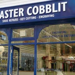Shop Signage. White Acrylic letters, Horsham West Sussex