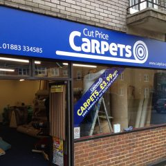 Cut Price Carpets Digital Print to board