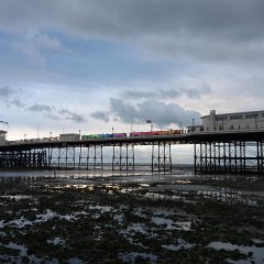 Worthing pier graphics, Charity displays and graphics. Worthing Sussex