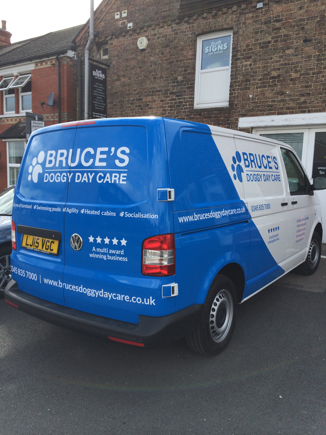 Vehicle Graphics Decals Horsham West Sussex Scotts Signs