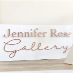 Exhibition sign sussex