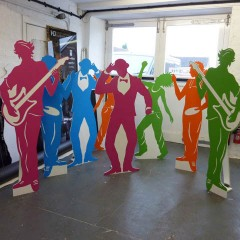 Freestanding Figures, Charity event Worthing, West Sussex