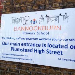 Acrylic School Signage - London